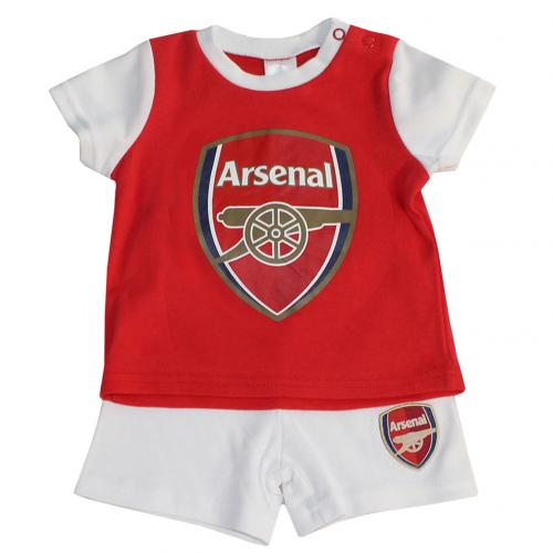 Arsenal F.C. T Shirt & Short Set 3/6 mths