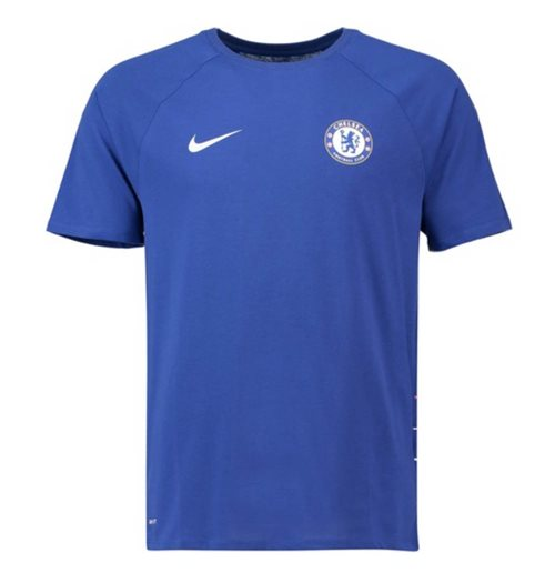 2018-2019 Chelsea Nike Dry Match Tee (Blue)
