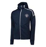 2018-2019 Man Utd Adidas Zne 3.0 Anthem Jacket (Navy)