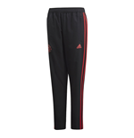 2018-2019 Man Utd Adidas Woven Pants (Black) - Kids