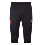 2018-2019 Man Utd Adidas Three Quarter Length Pants (Black)