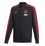2018-2019 Man Utd Adidas Presentation Jacket (Black)