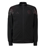2018-2019 Man Utd Adidas LIC Track Top (Black)