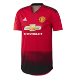 2018-2019 Man Utd Adidas Home Adi Zero Football Shirt