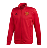 2018-2019 Man Utd Adidas 3S Track Top (Red)