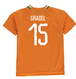 2018-19 Ivory Coast Home Shirt (Gradel 15) - Kids