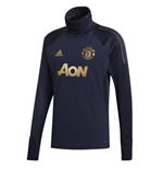2018-2019 Man Utd Adidas UCL Warm Up Top (Navy)