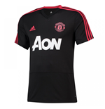 2018-2019 Man Utd Adidas Training Shirt (Black)