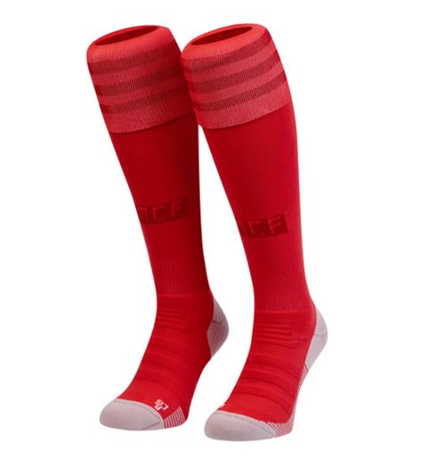 2018-2019 Real Madrid Adidas Third Socks (Red)