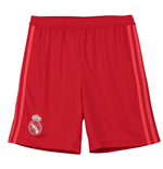 2018-2019 Real Madrid Adidas Third Shorts (Red) - Kids