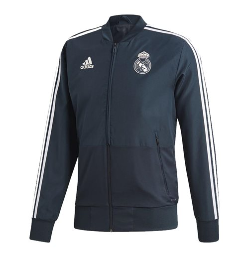 2018-2019 Real Madrid Adidas Presentation Jacket (Dark Grey)