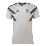 2018-2019 Real Madrid Adidas Pre-Match Training Shirt (Grey)
