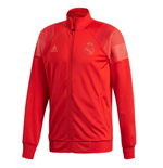 2018-2019 Real Madrid Adidas 3S Track Top (Red)