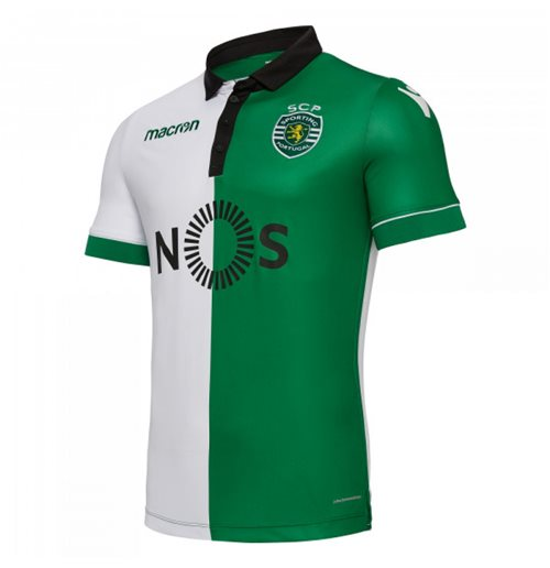 2018-2019 Sporting Lisbon Authentic Stromp Match Shirt