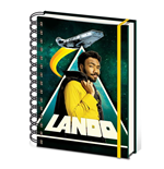 Star Wars Solo Wiro Notebook A5 Lando