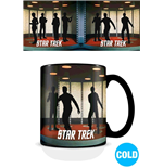 Star Trek Heat Change Mug Transporter