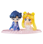 Sailor Moon Petit Chara Mini Figure 2 Set Neo Queen Serenity & King Endymion 6 cm