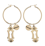 Harry Potter Earrings Alohomora