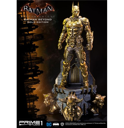 Batman Arkham Knight 1/3 Statue Batman Beyond Gold Edition 84 cm