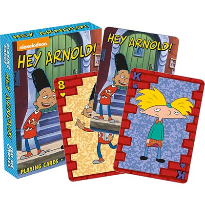 Hey Arnold Playing Cards NICKELODEON