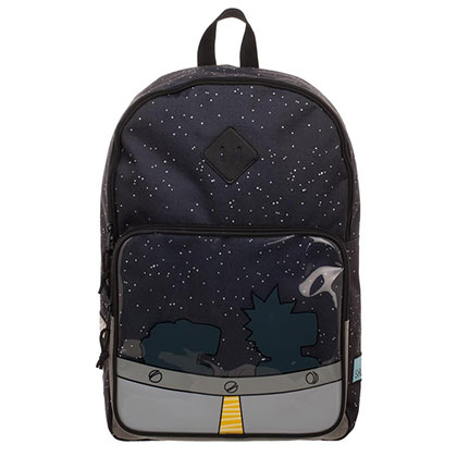 Cartoon Network Rick And Morty UFO Backpack