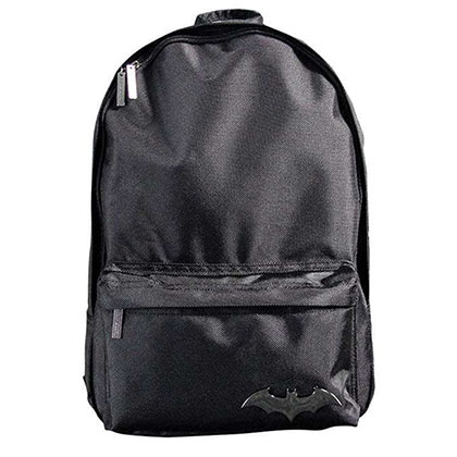 DC Comics BATMAN Emblem Black Backpack