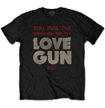 KISS Men's Tee: Pull The Trigger