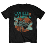 Coheed & Cambria Men's Tee: Dragonfly (Retail Pack)