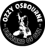 Ozzy Osbourne Back Patch: Blizzard Of Ozz