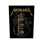 Metallica Back Patch: Hetfield Guitar