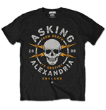 Asking Alexandria Men's Tee: Danger (Retail Pack)