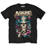 Asking Alexandria Men's Tee: Hat Skull (Retail Pack)