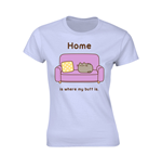 Pusheen T-shirt Home (BLUE)