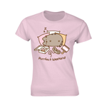 Pusheen T-shirt Purrfect Weekend (PINK)