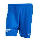 2018-2019 Zenit Nike Home Shorts (Blue)