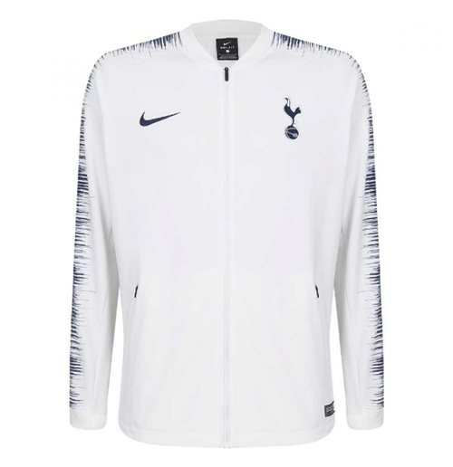 d9fafc04ff Buy Official 2018-2019 Tottenham Nike Anthem Jacket (White)