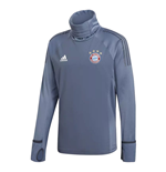 2018-2019 Bayern Munich Adidas UCL Warm Up Top (Grey)