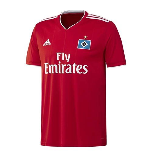 2018-2019 Hamburg Adidas Away Football Shirt
