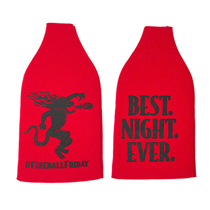 Fireball Cinnamon Whisky Best Night Ever Friday Bottle Cooler