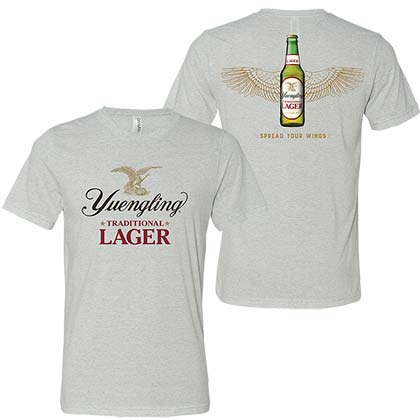 YUENGLING Spread Your Wings Men's Grey TShirt