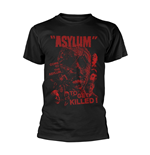 Plan 9 - Asylum T-shirt Asylum - Red