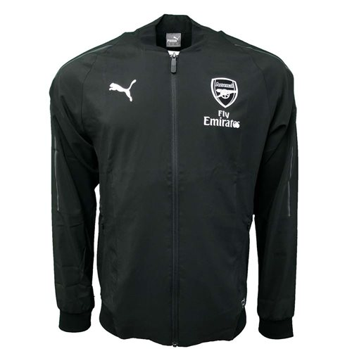 2018-2019 Arsenal Puma Woven Jacket (Black)