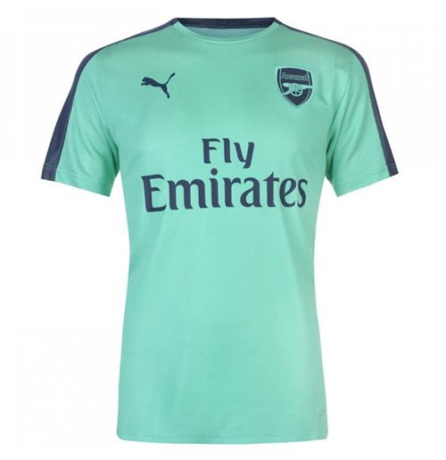 newest 5c4ab 3beaa 2018-2019 Arsenal Puma Stadium Jersey (Green)