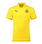 2018-2019 Borussia Dortmund Puma Casuals Polo Shirt (Yellow)