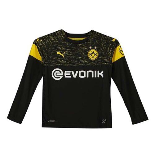 a8e0a8a771a Buy 2018-2019 Borussia Dortmund Long Sleeve Away Puma Shirt (Kids)