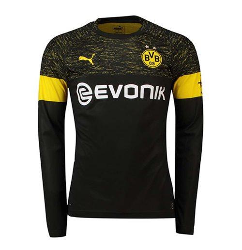 627137a1e0e Buy Official 2018-2019 Borussia Dortmund Away Long Sleeve Puma Shirt