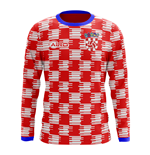 2018-2019 Croatia Long Sleeve Home Concept Football Shirt