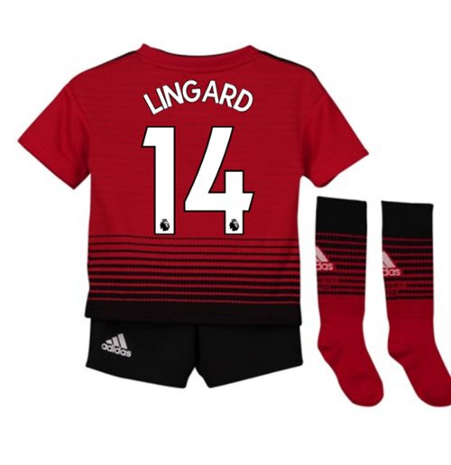 1651c4391 Buy 2018-2019 Man Utd Adidas Home Little Boys Mini Kit (Lingard 14)