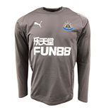 2018-2019 Newcastle Puma Sweat Top (Grey)