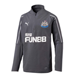 2018-2019 Newcastle Puma Quarter Zip Training Top (Steel Grey)